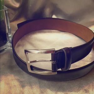 Other - NWOT brown genuine leather men's belt size 34